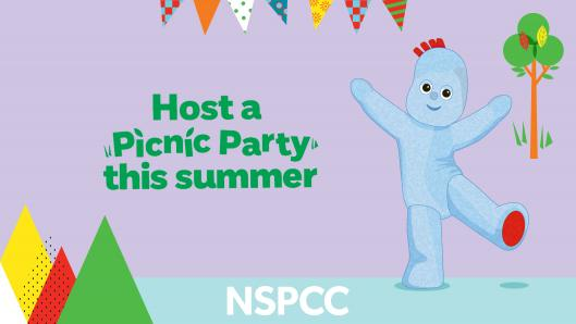 NSPCC In the Night Garden Picnic Party
